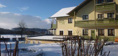 Hotel-Eckershof im Winteransicht