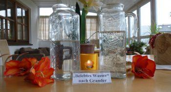 Grander Wasser für jeden Hausgast